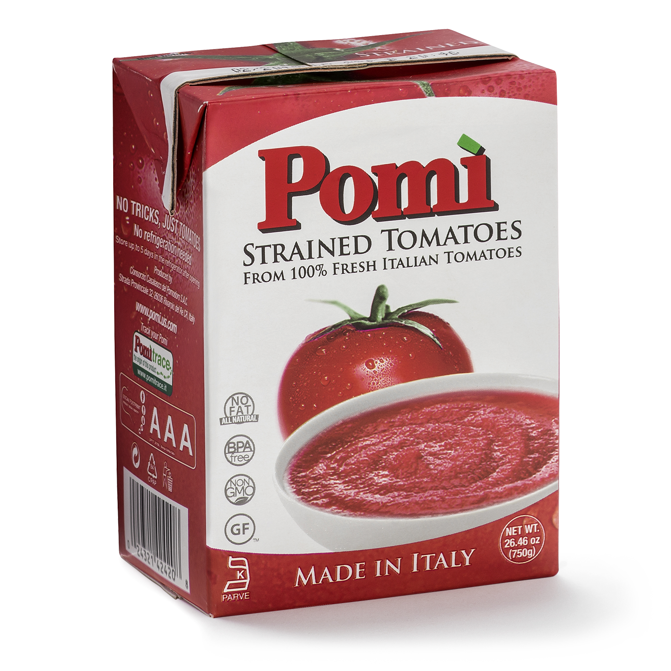 Strained Tomatoes 26.6 oz