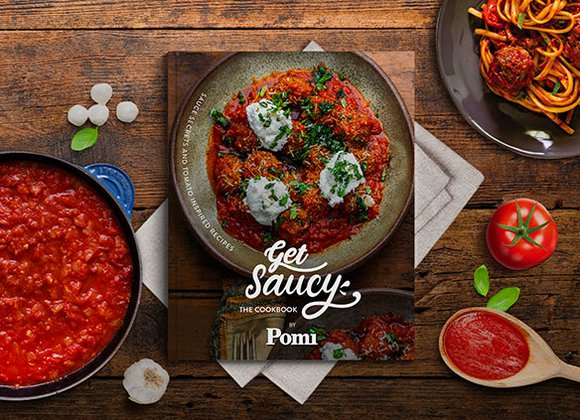 The Get Saucy Cookbook by Pomì