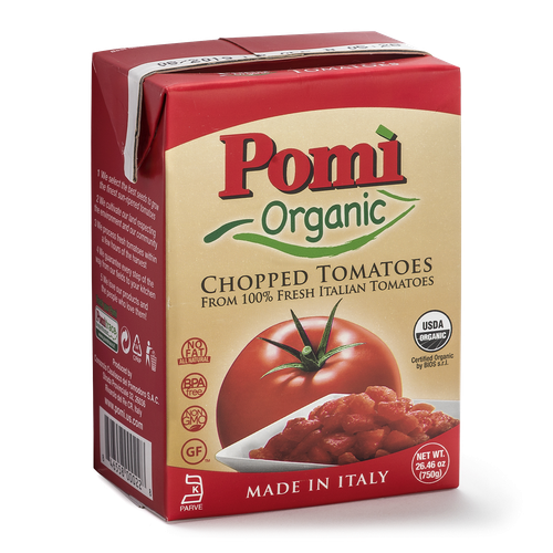 Organic chopped tomatoes