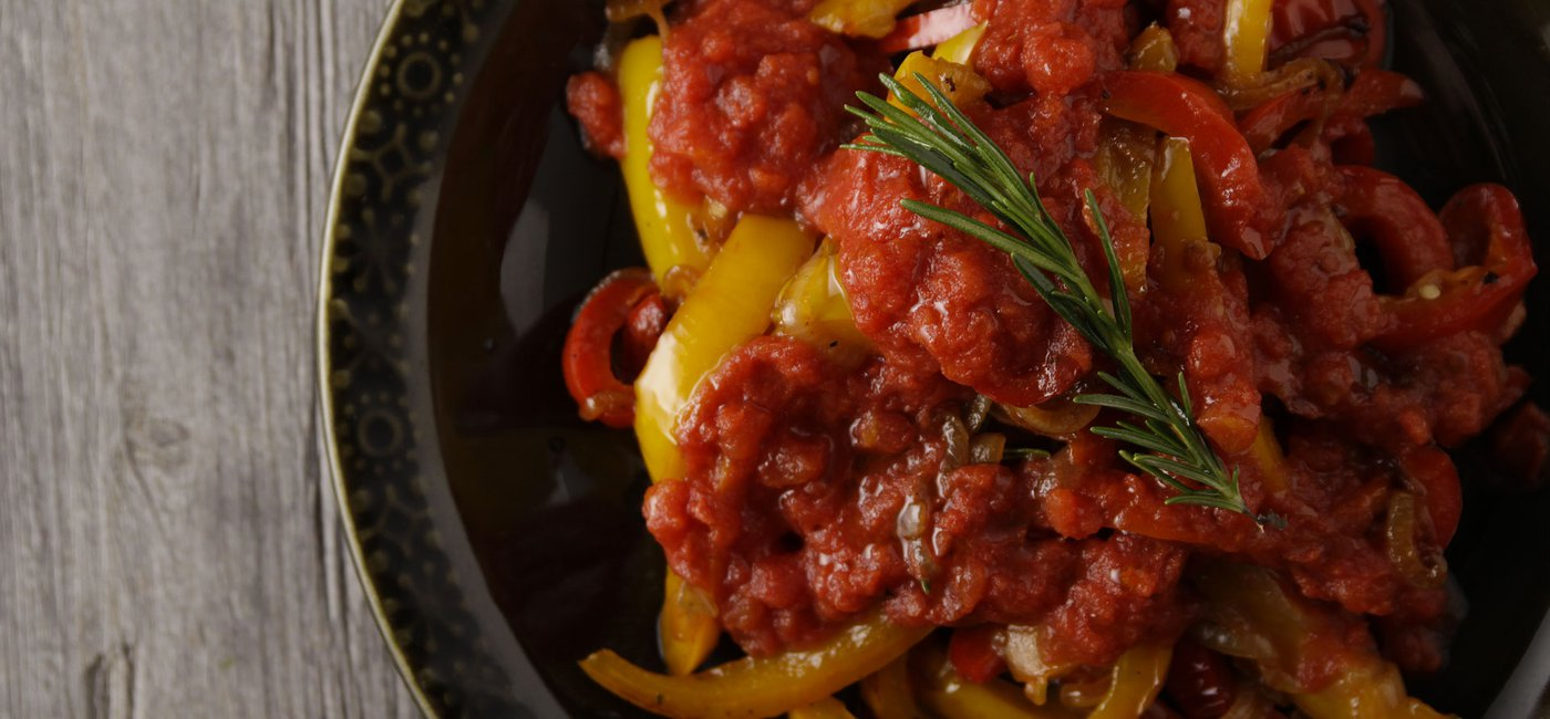 Tomato and Bell Pepper Sauce