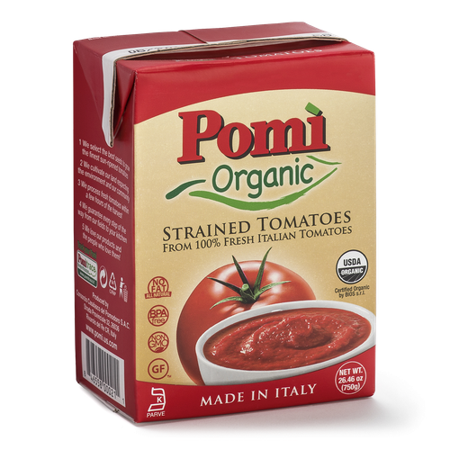 Organic Strained Tomatoes