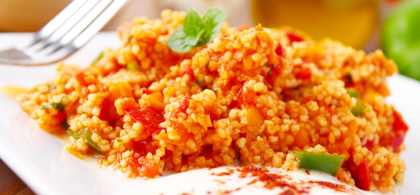 Couscous with tomato - Morocco